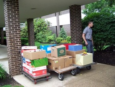 Lincoln Financial Group employees donated 19 boxes of non-perishable food items in June 2011.  Recipient agencies were the Boscawen Congregational Church and St. John's Church-St. Vincent DePaul Society.